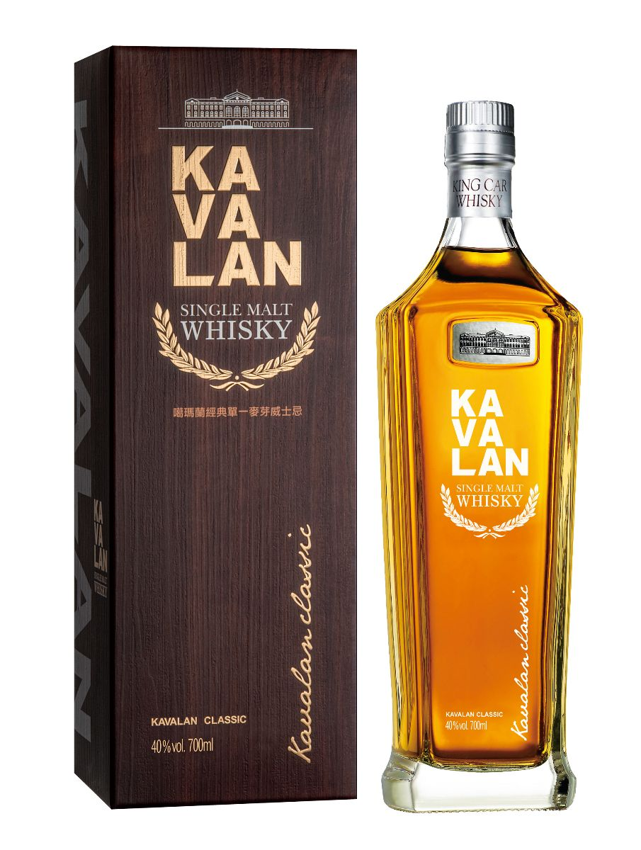 Mike Cox - NO.1-Kavalan Classic Single Malt Whisky-bottle and box