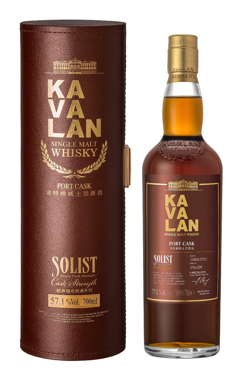 Mike Cox - NO.11-Kavalan Solist Port Single Cask Strength Single Malt Whisky-bottle and box