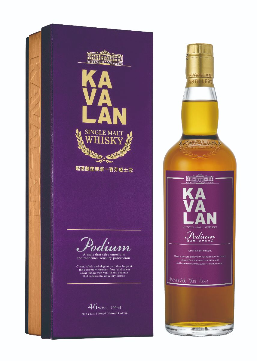 Mike Cox - NO.8-Kavalan Podium Single Malt Whisky-bottle and box