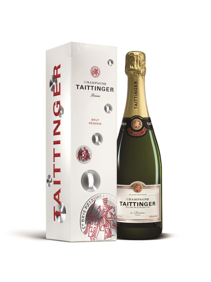 Mike Cox - Taittinger Brut Reserve + Gift Box